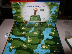 Lucky Shots Golf Board Game