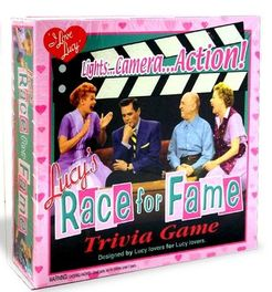 Lucy's Race for Fame Trivia game