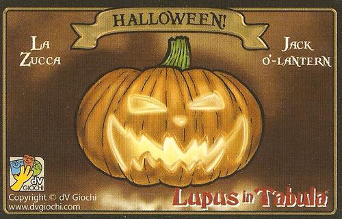 Lupus in Tabula: The Jack-o'-Lantern
