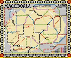 Macedonia (fan expansion to Ticket to Ride)