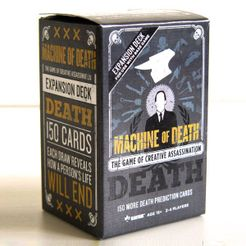 Machine of Death: The Game of Creative Assassination – Death