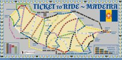 Madeira (fan expansion of Ticket to Ride)
