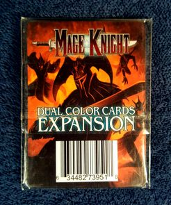 Mage Knight Board Game: Dual Color Cards Expansion