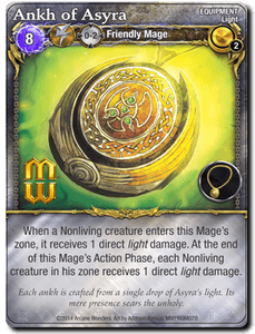 Mage Wars: Ankh of Asyra Promo Card