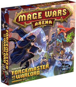 Mage Wars Arena: Forcemaster vs Warlord Expansion Set