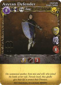 Mage Wars: Asyran Defender Promo Card