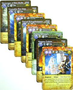 Mage Wars: Dice Tower 2015 Funding Campaign Promo Card Set