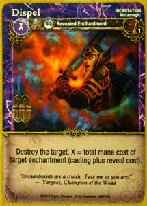 Mage Wars: Dispel Promo Card