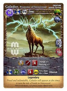 Mage Wars: Galador, Protector of Straywood Promo Card