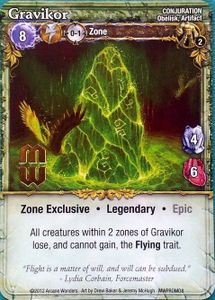 Mage Wars: Gravikor Promo Card