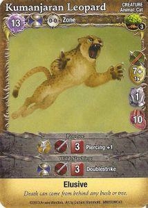 Mage Wars: Kumanjaran Leopard Promo Card