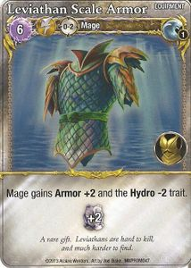 Mage Wars: Leviathan Scale Armor Promo Card