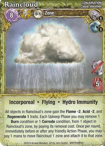 Mage Wars: Raincloud Promo Card