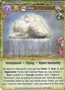 Mage Wars: Raincloud Promo Card