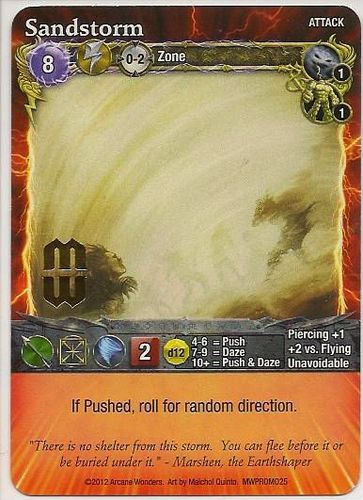 Mage Wars: Sandstorm Promo Card