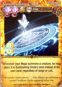 Mage Wars: Summoning Circle Promo Card