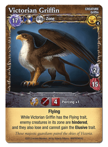 Mage Wars: Victorian Griffin Promo Card