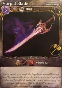 Mage Wars: Vorpal Blade Promo Card