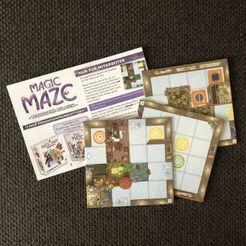 Magic Maze: Technische Anlagen