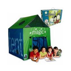 Magic Tent Game with Mystery Treasure Hunt