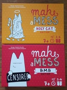 Make a Mess: Holy Cat Edition