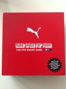 Make Space For Puma  The PRS Board Game