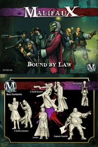 Malifaux Second Edition:  Bound By Law – Lucius Box Set
