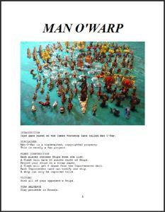 Man O'Warp