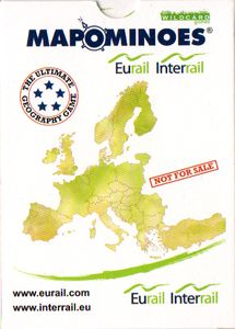 Mapominoes: Eurail Interrail