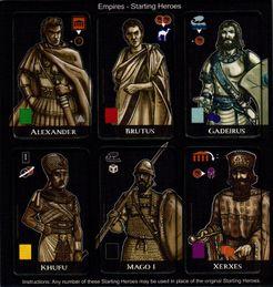 Mare Nostrum: Empires – Starting Heroes