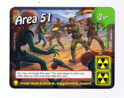 Mars Attacks: The Dice Game – Area 51
