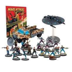 Mars Attacks: The Miniatures Game – Humanity Resists
