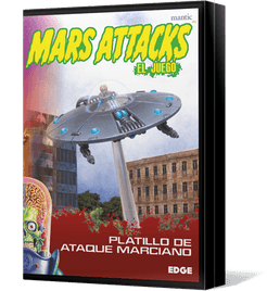 Mars Attacks: The Miniatures Game – Martian Attack Saucer