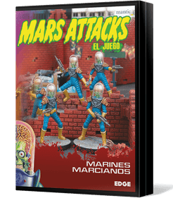 Mars Attacks: The Miniatures Game – Martian Marines