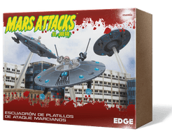 Mars Attacks: The Miniatures Game – Martian Saucer Squadron