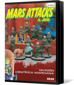 Mars Attacks: The Miniatures Game – Martian Science Division