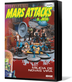 Mars Attacks: The Miniatures Game – Novas Vira Militia