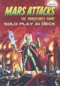 Mars Attacks: The Miniatures Game – Solo Play A.I. Deck