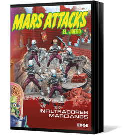 Mars Attacks: The Miniatures Game – Stealth Martians