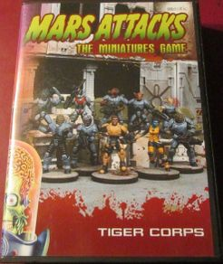 Mars Attacks: The Miniatures Game – Tiger Corps