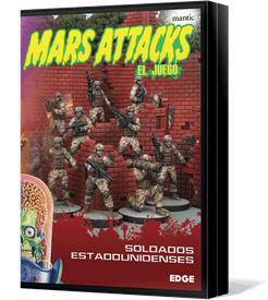Mars Attacks: The Miniatures Game – US Soldiers