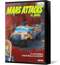 Mars Attacks: The Miniatures Game – US Soldiers Flatbed