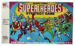 Marvel Comics Super Heroes Strategy Game