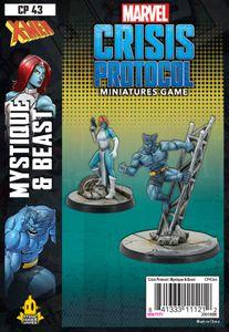 Marvel: Crisis Protocol – Mystique & Beast