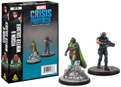 Marvel: Crisis Protocol – Vision and Winter Soldier