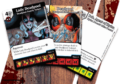 Marvel Dice Masters: Deadpool Family Values Promo Cards