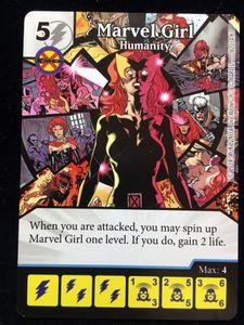 Marvel Dice Masters: Marvel Girl Promo