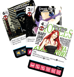 Marvel Dice Masters: Spider-Allies Promo Cards