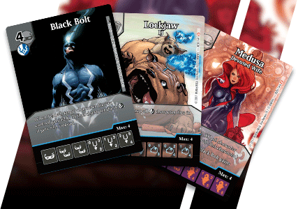 Marvel Dice Masters: Uncanny Inhumans Promo Cards