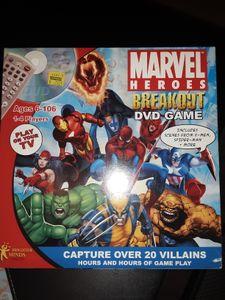 Marvel Heroes Breakout DVD Game